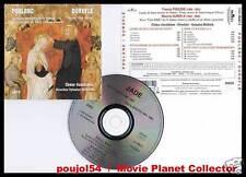 """POULENC """"Laudes St Antoine"""" DURUFLE """"Messe"""" (CD) 1995"""
