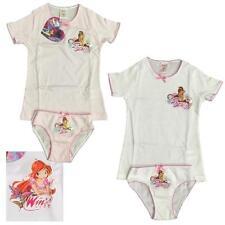 Completo intimo bambina Winx, T-shirt + Slip Bimba *03416