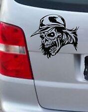 Totenkopf Skull Aufkleber Sticker Car Styling Wandtattoo 18x20cm freie Farbwahl