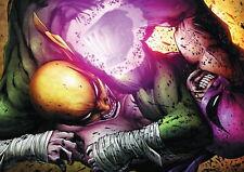 139972 IRON FIST CARTOON Wall Print Poster CA