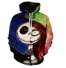 Hat hoodie Nightmare Before Christmas printed Pullover Pocket hoodie M-XL