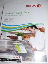 Xerox Premium Never Tear A4 Waterproof Paper 95,120 or 195 micron multi listing