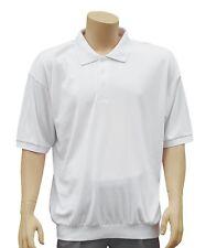 Cathedral Polo Hombre Suave de punto con botones Soldado TOP algodón poliéster