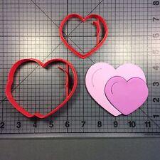 Heart Pair 100 Cookie Cutter Set