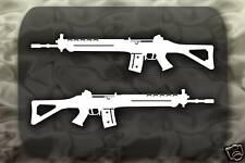 SG 550 SIG Rifle Gun decal 2 Stickers