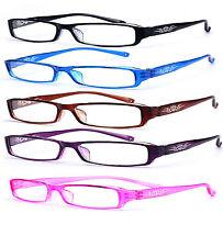Slim Reading Glasses  form 0.00 to  4.00 Unisex Trendy Designer Spring Mosaic