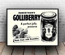 Golliberry, De Colección Publicidad Cartel reproducción