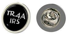 TRIUMPH TR4A Embrague Pin insignia con el logotipo del IRS Elección De Oro/plata
