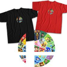 Super Smash Bros Ultimate Ball Mario Link Zelda Cool Nintendo Unisex Tee T-Shirt