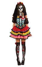 Fancy Dress Costume ~ Halloween Day Of The Dead Senorita Size 8 - 18