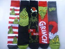 Mens GRINCH Stole Christmas Dr Seuss Socks Various NEW Designs Sizes 6-8 9-12