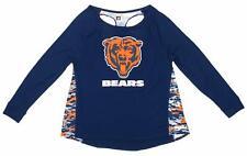 Zubaz Women's NFL Chicago Bears Racer Back Shirt Top