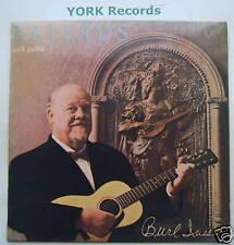 BURL IVES - Ballads With Guitar - Ex Con LP Record