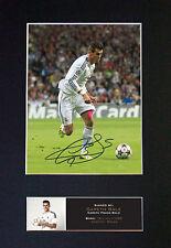 Gareth Bale No2 firmado montado autógrafo impresiones de fotos A4 552