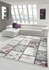 Edler Designer Teppich Moderner Teppich Wohnzimmer Teppich Patchwork Vintage Mel