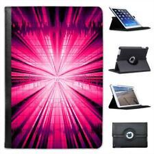 Pink Explosion Folio Leather Case For iPad Mini & Retina
