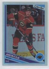 2013-14 O-Pee-Chee Rainbow Foil #492 Justin Falk Minnesota Wild Hockey Card