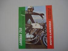 advertising Pubblicità 1969 MOTO LAVERDA 750