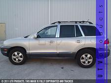 GTG, Fits 2001 - 2006 Hyundai Santa Fe 8PC Chrome Stainless Steel Pillars Posts