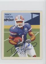 2009 Upper Deck Philadelphia NC86 Percy Harvin Florida Gators Auto Football Card