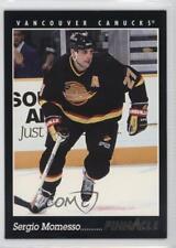 1993-94 Pinnacle #393 Sergio Momesso Vancouver Canucks Hockey Card