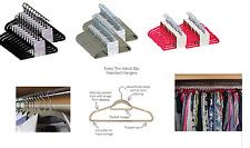 Thin Velvet Touch Space Saving Non-slip Coat Hangers