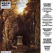 Ottorino Respighi CD: Poema autumnale; Suite in G Major, Barra, Menotti