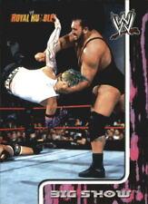 2002 Fleer WWE Royal Rumble Wrestling Choose Your Cards
