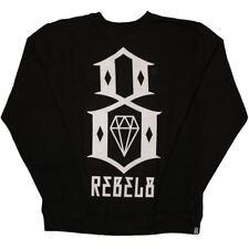 Rebel8 Logo Sweatshirt Black