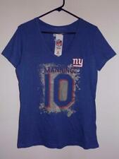 New York Giants women's t shirt Eli Manning Dazzle v-neck NWT