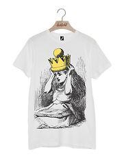 Lote 1 Alicia en el país de las maravillas a través del espejo Camiseta Unisex corona de oro
