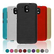 Schutzhülle für HTC Brushed Silikon Cover Case Tasche Schale Etui + Schutzfolien