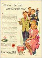 1942 vintage ad for Carnation Milk  -021712