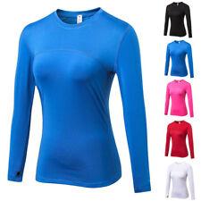 Women Mesh Stitching Long Sleeve Sports T-Shirt Yoga Fitness Training Sportswear