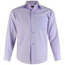 Boys Formal Shirt Wedding Christening Smart Party Casual Long Sleeve 1-5 Y