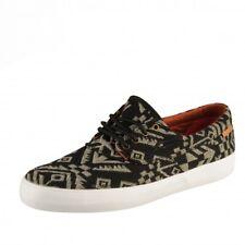 Lakai Camby Echelon All Black Canvas Skate Chaussures Sneaker Noir