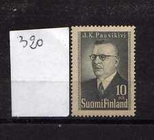 Finlandia / Finland 1947 Serie presidente J K Paasikivi MNH