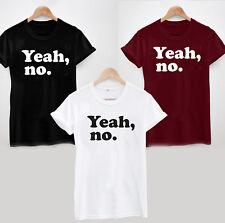 Ja, kein T-Shirt-Lustig Witz sarkastisch Damen oder Herren Meme U OK Hun