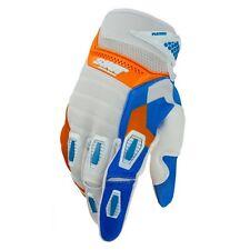 Gant cross mx bmx Shot Flexor Edge orange bleu blanc KTM Honda
