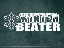 Winter beater decal | Snowflake | Vinyl Sticker & Wall Decals
