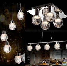 Pendelleuchte LED Deckenleuchte 8139 chrom höhenverstellbar   3000k warmweiß