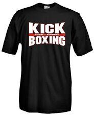 T-Shirt girocollo manica corta Sport P36_B Boxe Boxeur Kick Boxing Pugilato