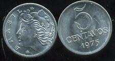 BRESIL  5 centavos 1975  ( bis )