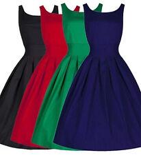 Vestito Estate Donna Lavoro Casual Party 60S Woman Summer Vintage Dress 110083