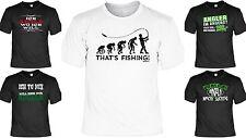 Bekleidung Hemden & T-Shirts Angler T-Shirt Angeln Therapie Funshirt lustiges Geschenk Geburtstag Karpfen 222