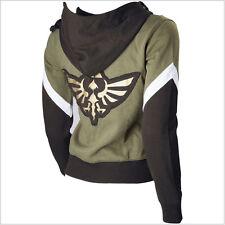 The Legend of Zelda Link Hoodie Zipper Coat Jacket Sweatshirt Cosplay Costume
