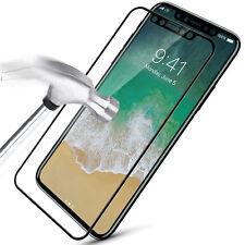Protector de Pantalla Cristal Vidrio Tapa Accesorios Para Apple iPhone X