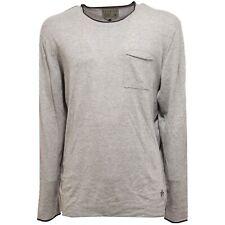 8709U maglione uomo JACK & JONES PREMIUM TAILORED grey sweater men
