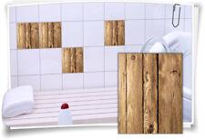 Azulejos pegatinas fliesenbordüre cenefas azulejos madera mosaico pegatinas