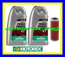 Kit Tagliando HUSABERG FE 350 '13> + Filtro Olio MOTOREX Cross Power 10W/60 2013